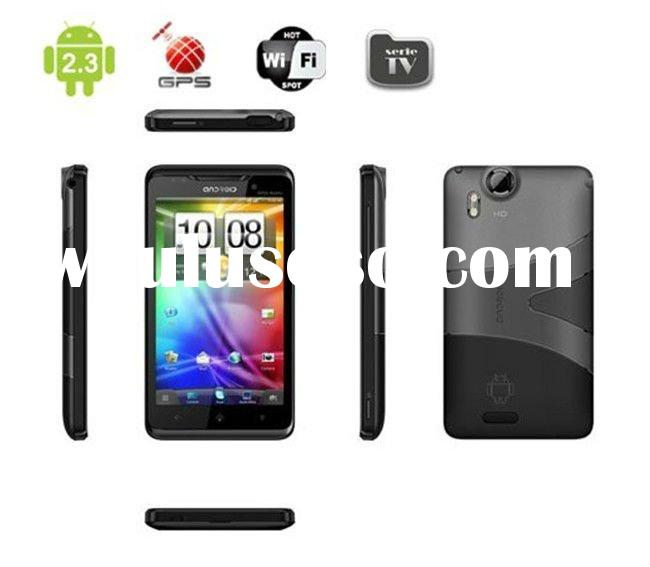4.3inch Android 2.3 Mobile Phone with Dual SIM, Support GPS, TV, Big Touch Screen TV WiFi GPS 4.3 In
