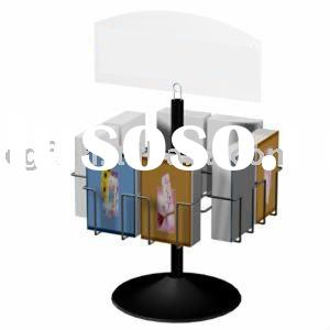 Greeting card display stand greeting card display stand 4 x 6 wire greeting card display rack stand with sign holder m4hsunfo