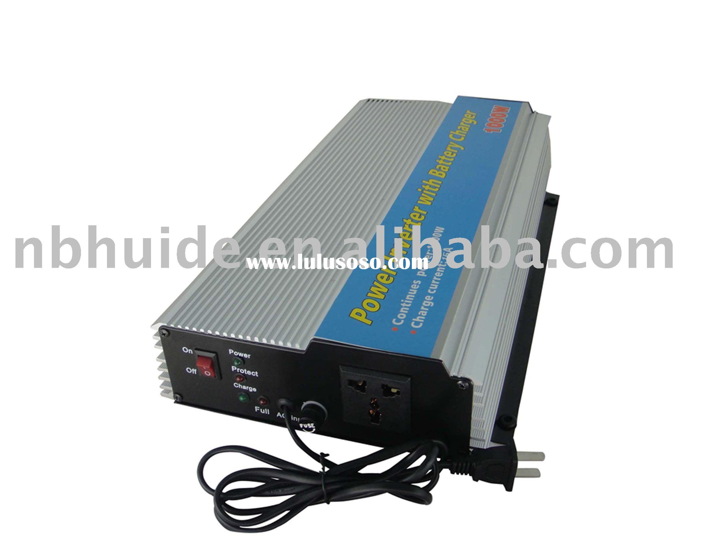 500-1000W Power Inverter with battery charger