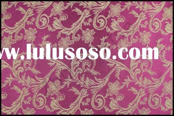 50% polyester 50% cotton curtain damask jacquard fabric