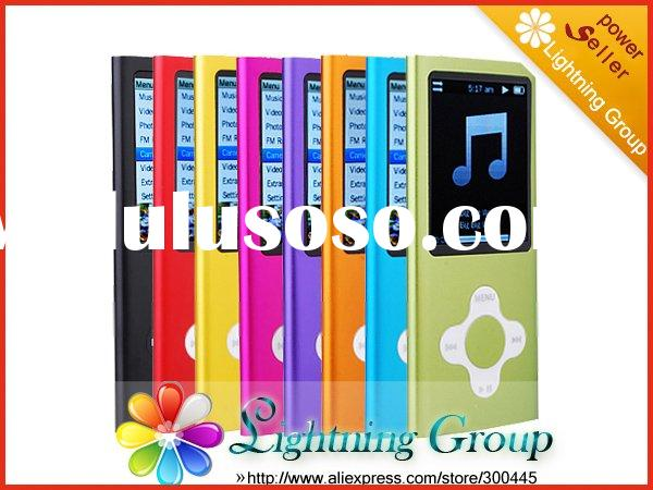 5TH Style Mini MP3 MP4 Player With Touch Wheel Scroll Button Camera Video FM Radio Digital Music Pla