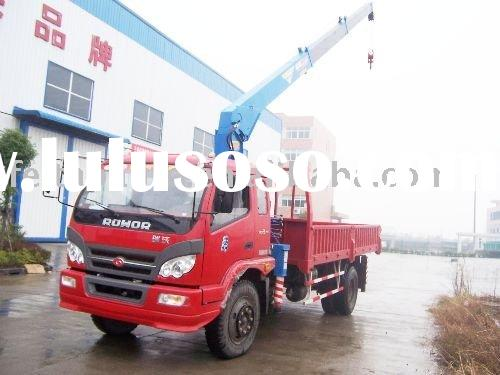 5 Tons knuckle boom truck mounted crane