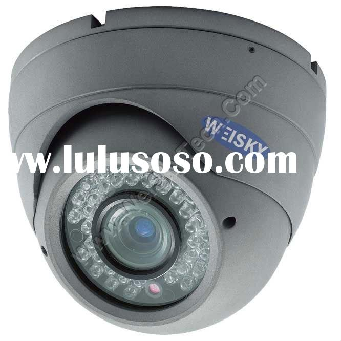 600TVL Varifocal lens,CCTV Sony Weatherproof IR Dome camera