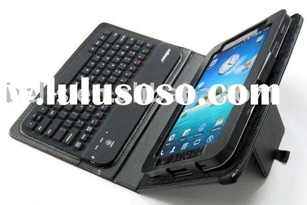 7' Bluetooth keyboard for HTC Flyer 7' with leather case