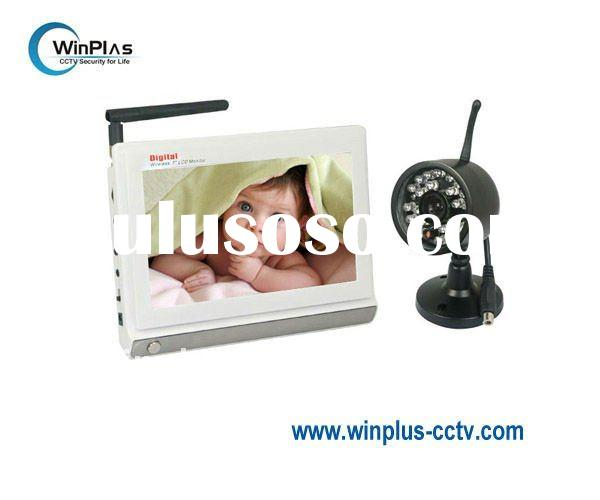 "7"" Wireless Digital Baby Monitor & Camera Kit (WP-M880C1)"