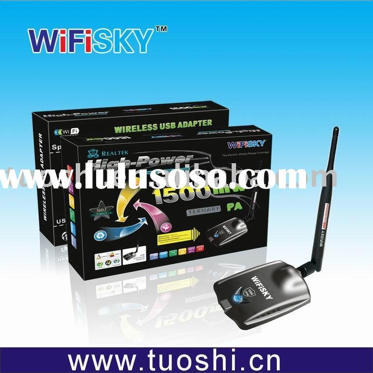 802.11 b/g WIFI Wireless Network Adapter 1500mw