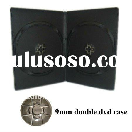 9mm black double standard dvd cover case