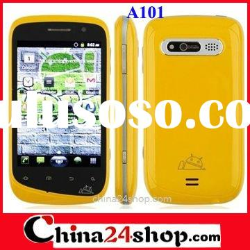 A101 3G Android 2.3 Phone 3.5 inch GPS+WIFI+Dual SIM Card Samrt Phone