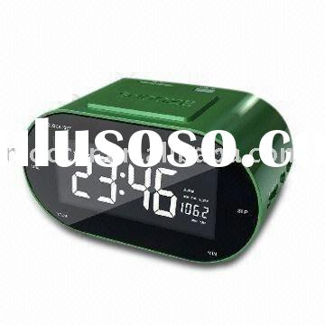 AM/FM LCD Clock Radio with USB/SD card slot,time display and Alarm/Snooze function