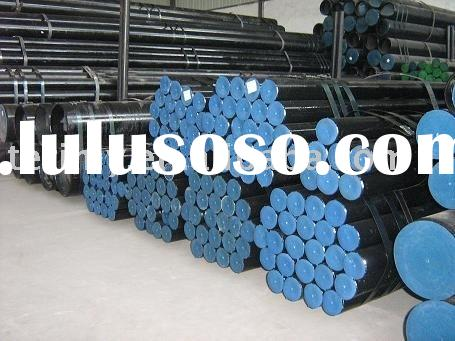 ASTM A106/53-B black carbon seamless steel pipe