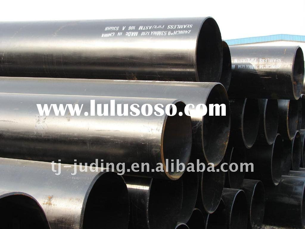 ASTM A106 Black Seamless Carbon Steel Pipe