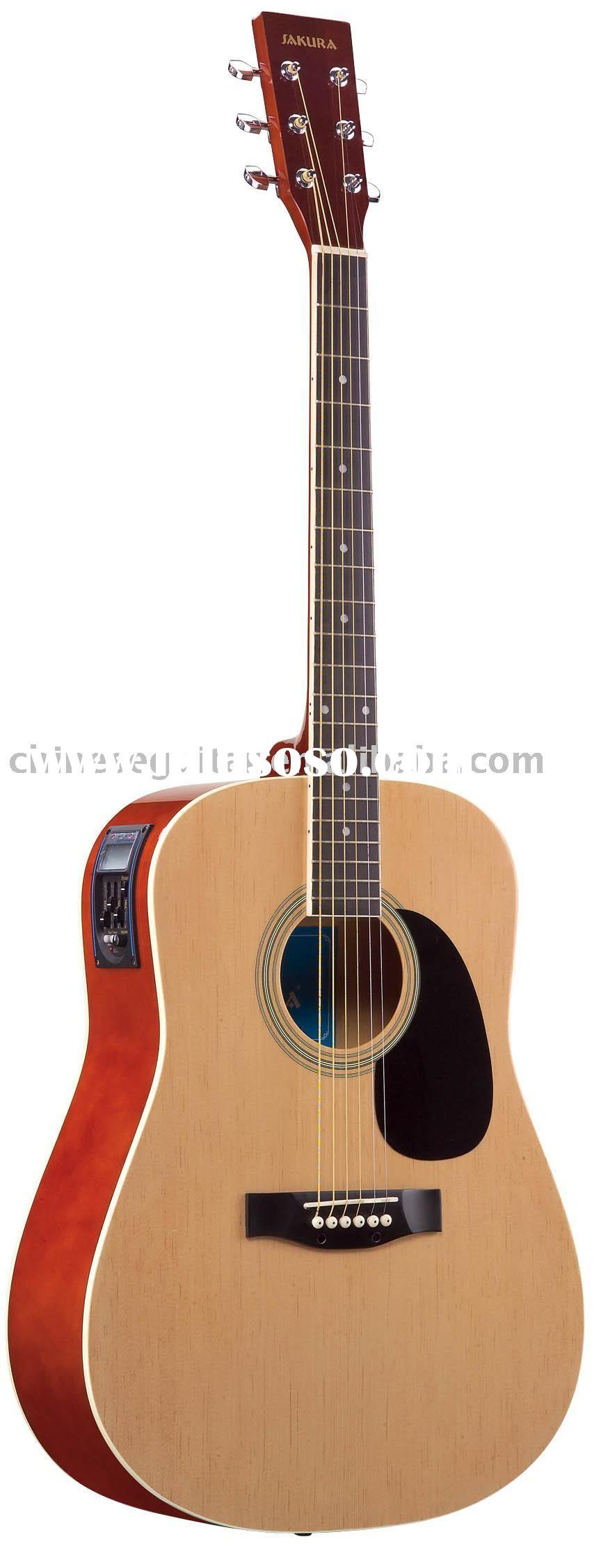 Acoustic Electric Guitar