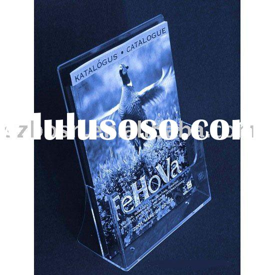 Acrylic Holder,Literature Display Stand,Acrylic Magazine Display