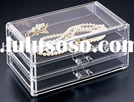 Acrylic Jewelry Box,Plexiglass Jewelry Case,Perspex Jewelry Stand