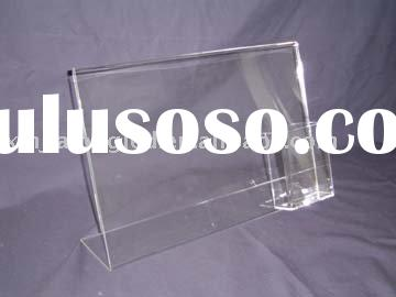 Acrylic Sign holder/Acrylic Brochure Holder/Countertop Display Holder