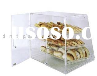 Acrylic display case (show case,cake or food display,counter display)