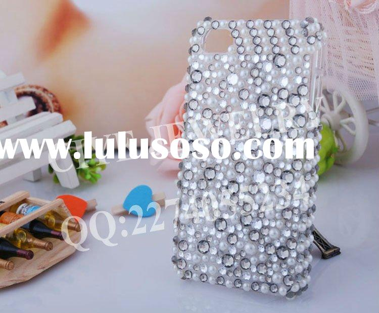 Acrylic rhinestone Mobile phone case for nokia e7