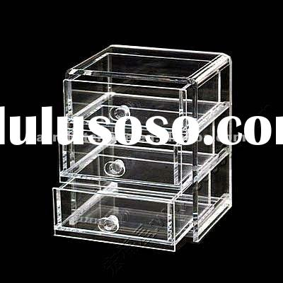 Acrylic showcase,acrylic jewelry display drawer