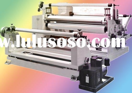 Adhesive Paper Tape And Film Laminating And Slitting Machine