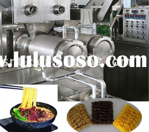Advanced Extruding Technology Automatic Instant Noodle Making Machine