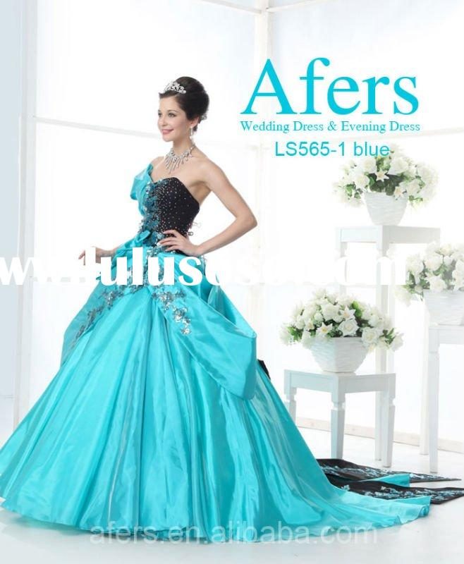 Afers luxury evening dress, unique Ball gown NO.LS565-1