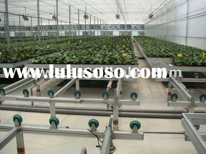 Agricultural greenhouse aluminum alloy Automatic plate bed