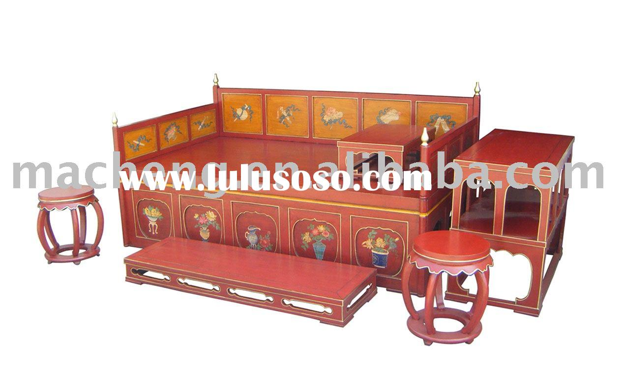 Antique & Reproduction Furniture, Bedroom Sets, Chinese Antique Bed