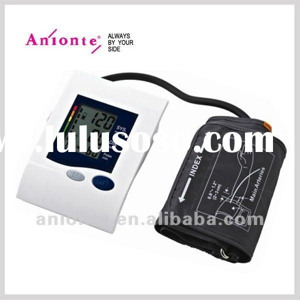 Arm blood pressure monitors with LCD display