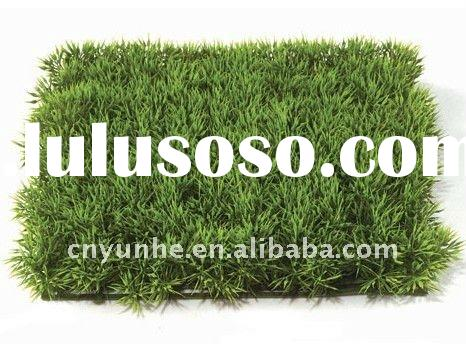 Artificial Synthetic Fake faux imitation Podocarpus Grass Mat Lawn Carpet Grass Turf