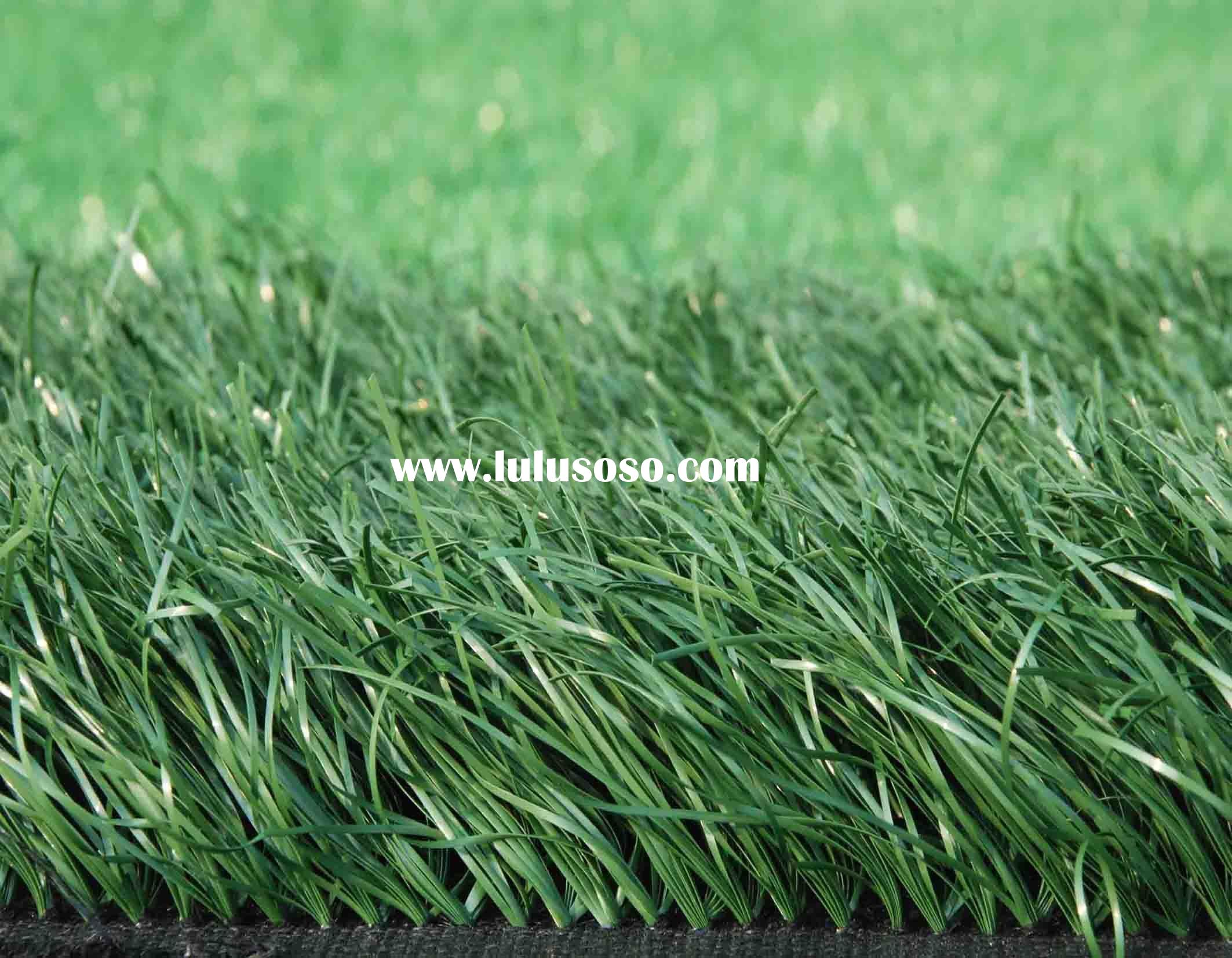 Artificial grass for landscaping and soccer