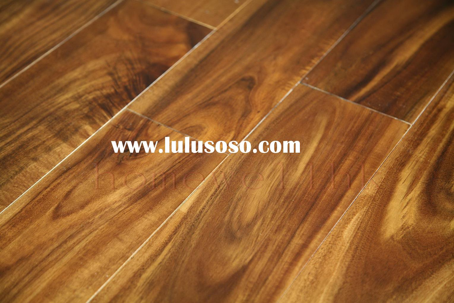 Asian walnut solid wood flooring