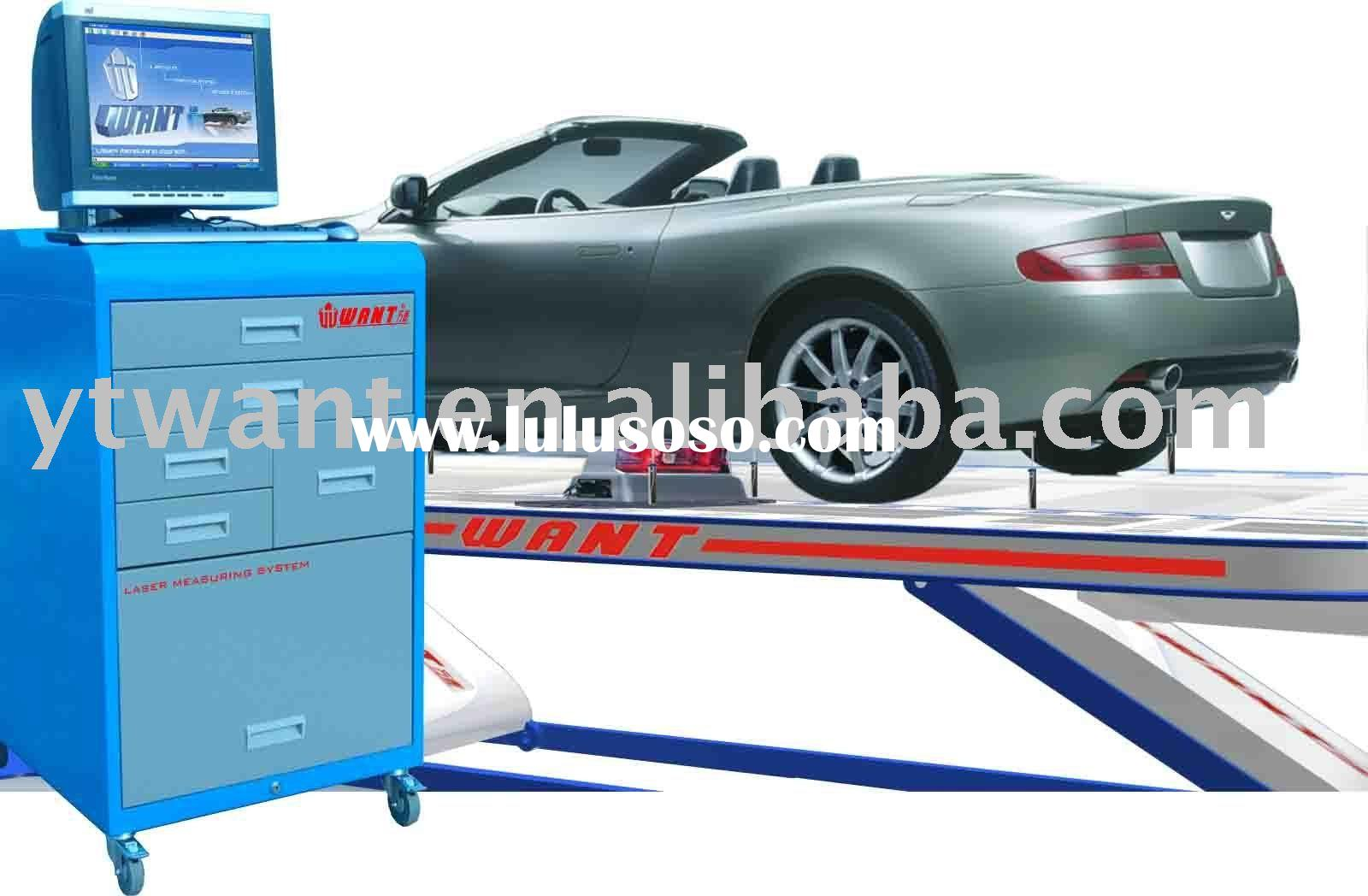 Auto Body Measuring System with Computer