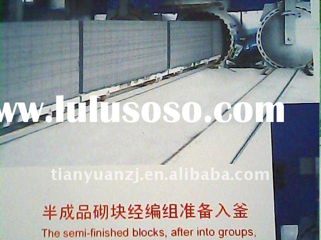 Autoclaved aerated concrete block plants (AAC line)