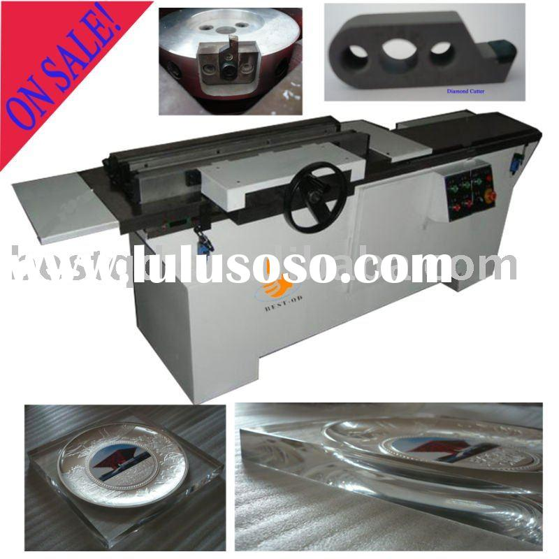 Automatic Acrylic Diamond Edge Polisher Polishing Machine