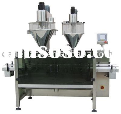 Automatic Double Head Powder Filling Machine
