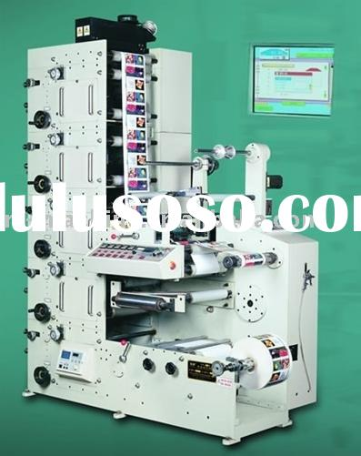 Automatic Flexography Label Printing Machine (320RY)