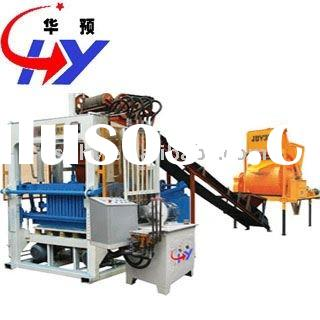 Automatic concrete brick making machinery