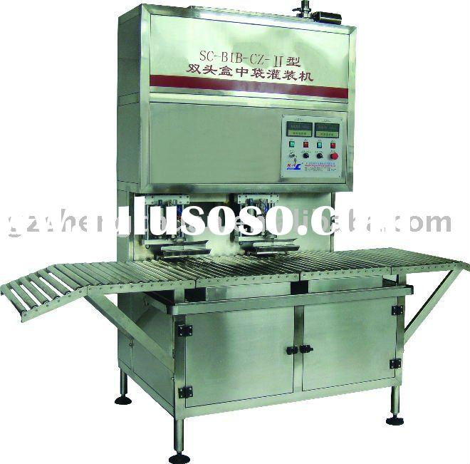 Automatic olive oil filling and capping machine