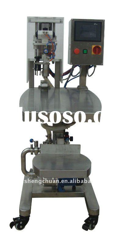Automatic plastic bag liquid filling sealing machine