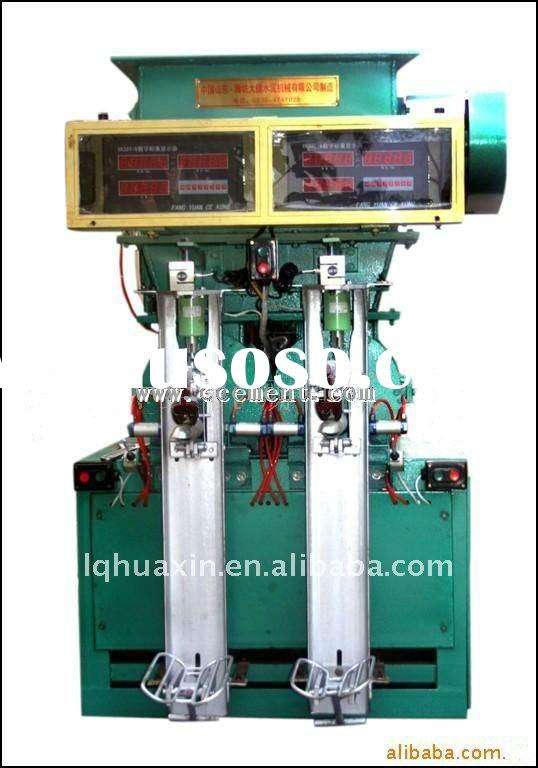 Automatic screw cement packing machine