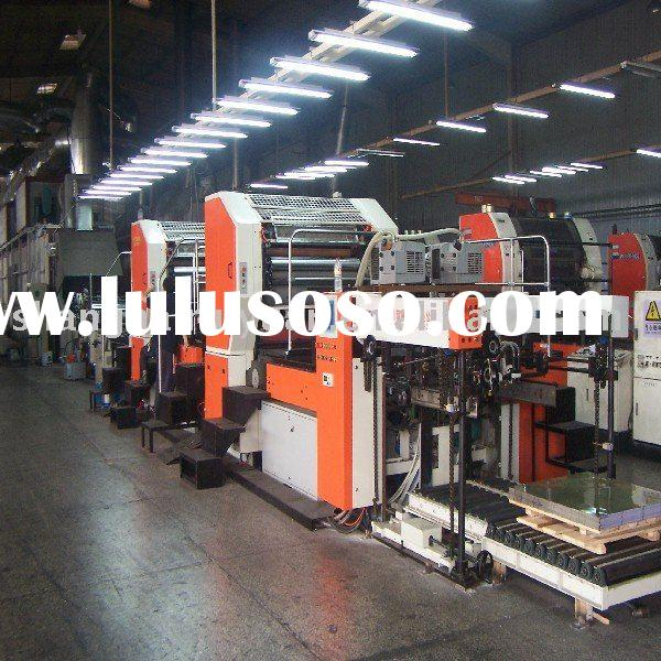 Automatic two color metal plate printing machinery