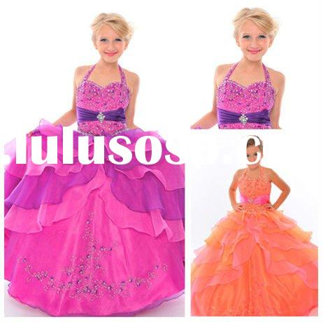 Ball Gown Lovely Organza Flower Girl Dress for Weddings