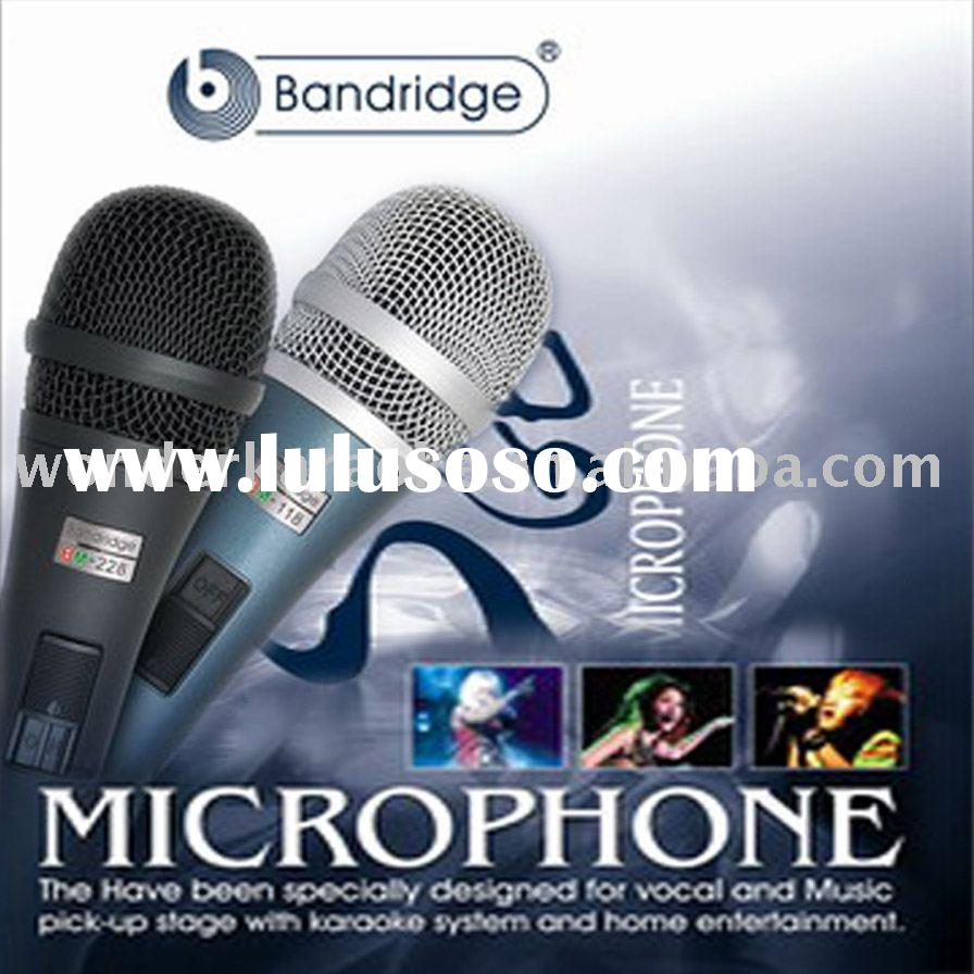 Bandridge Dynamic Karaoke Microphone for Home Karaoke System aduio equipment.