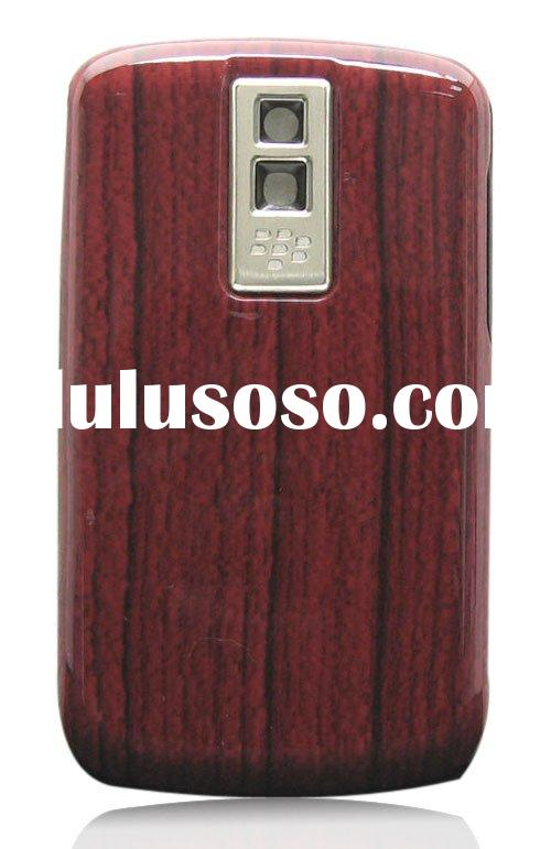 Battery cover/back cover for blackberry bold 9000/mob0ile phone accessories brown wooden