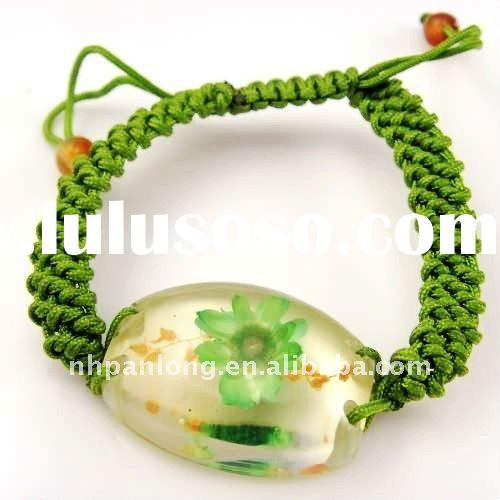 Beautiful!Cotton cord braided bracelets,twisted wax cord bracelet