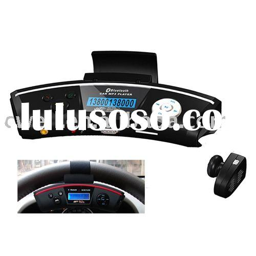 Bluetooth Car Mp3 player with wireless earpiece(CW-CM318)