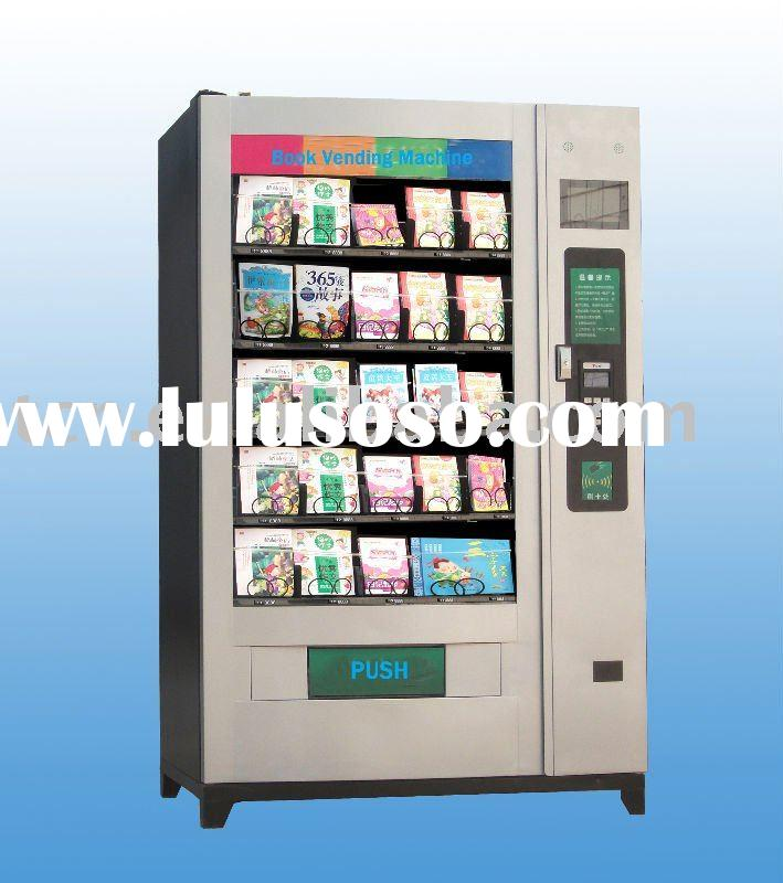 Book vending machine TCN-S820-C with advertising LCD display