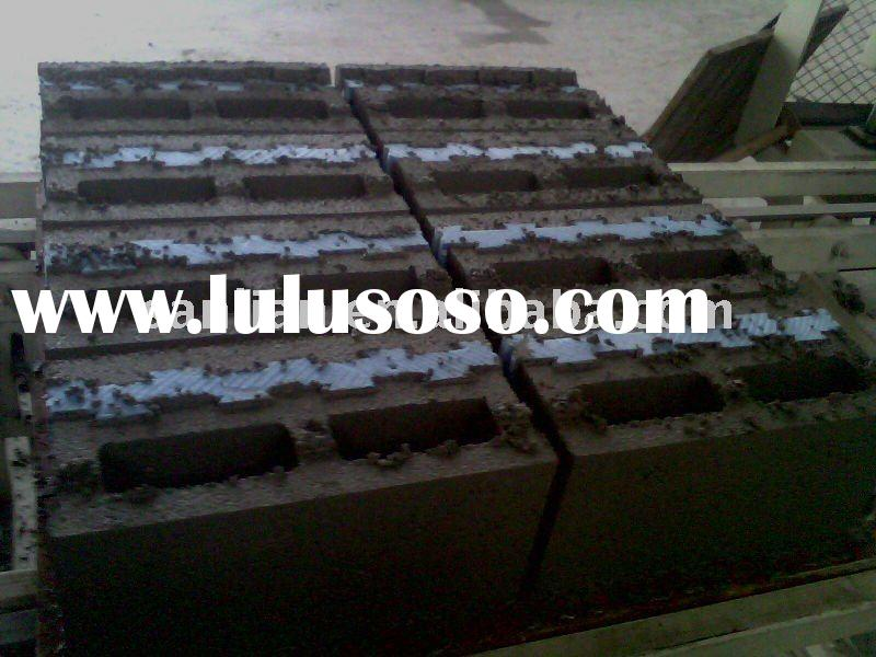 Brick/Block samples produced by Brick/Block making machine