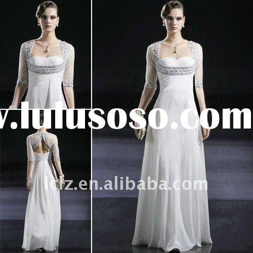 C56660 Free shipping long sleeve wedding gowns / dresses