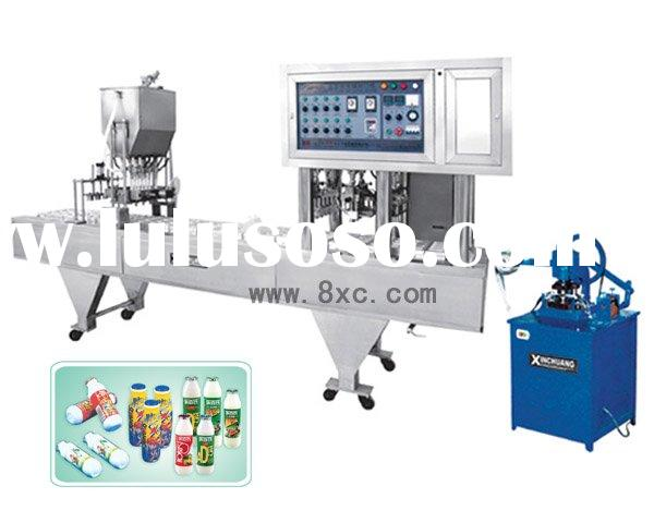 CFA-4 Semi-Automatic Bottle Filling & Sealing Machine -08
